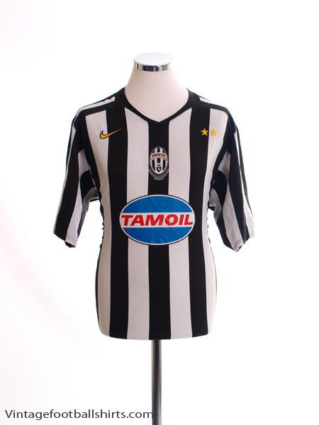 2005-06 Juventus Home Shirt L