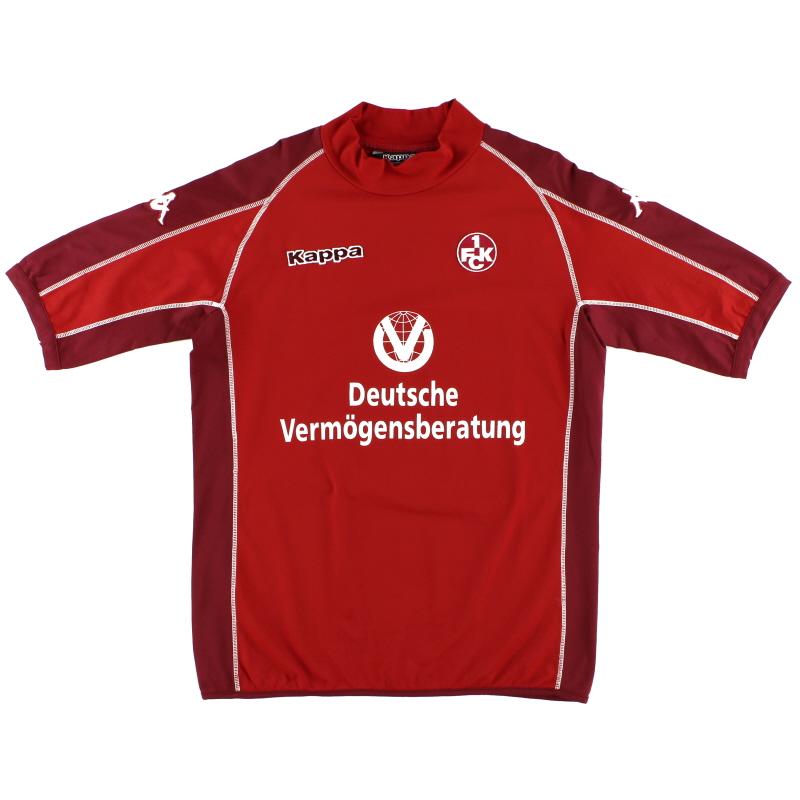 2005-06 Kaiserslautern Home Shirt XL