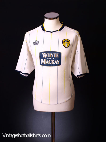 2005-06 Leeds Home Shirt M