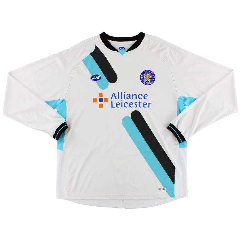 2005-07 Leicester JJB Away Shirt L/S XL