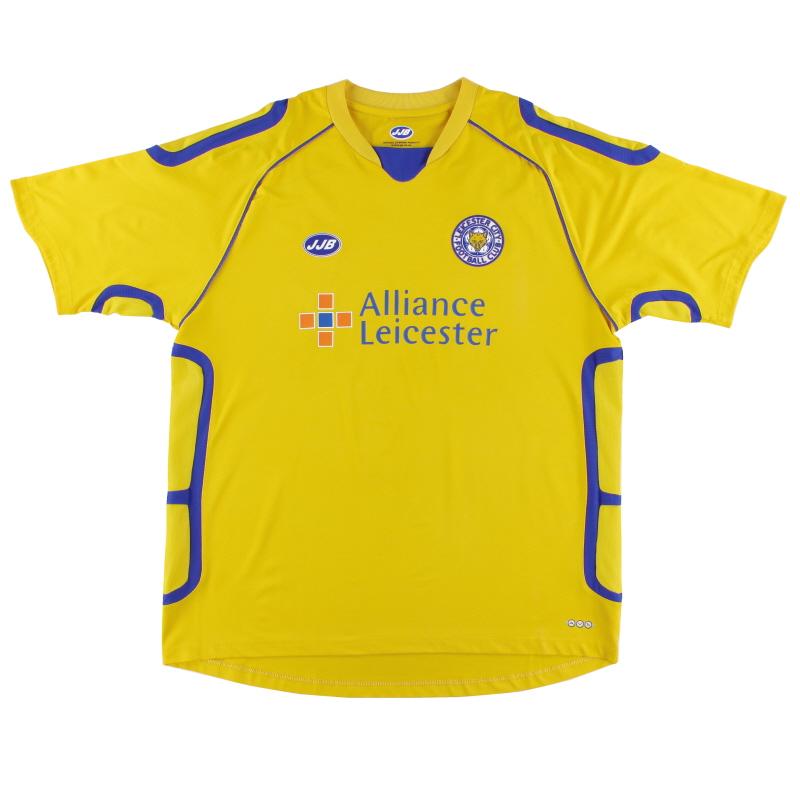 2005-06 Leicester Third Shirt *Mint* L