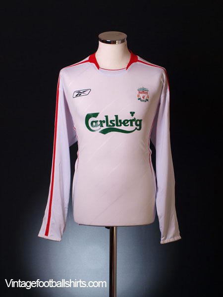 2005-06 Liverpool Away Shirt L/S M