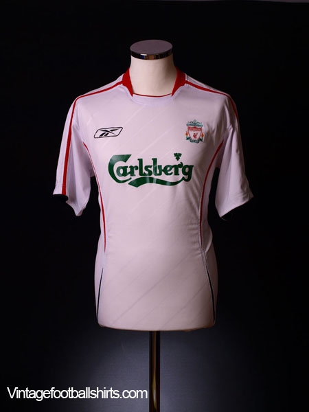 2005-06 Liverpool Away Shirt XXL