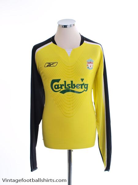 2005-06 Liverpool Goalkeeper Shirt L