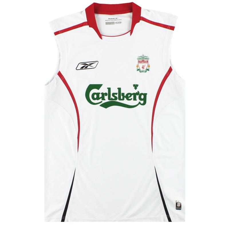 2005-06 Liverpool Reebok Training Vest L - ACMF5182-100