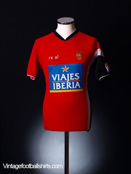 2005-06 Mallorca Home Shirt M