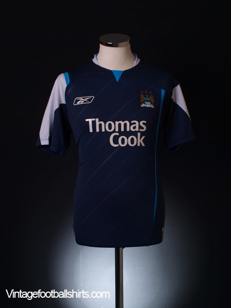 2005-06 Manchester City Away Shirt L