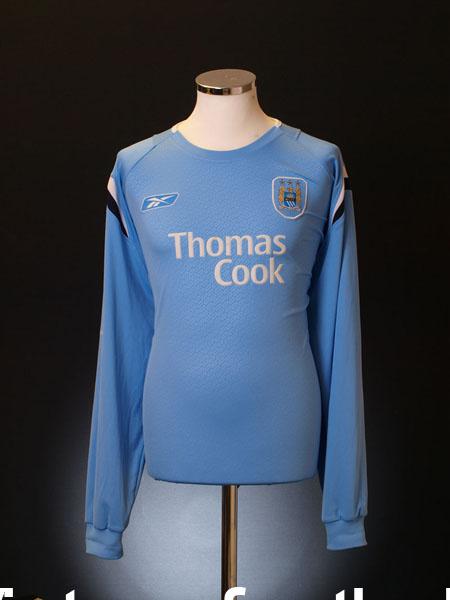 2005-06 Manchester Home Shirt L/S XXL