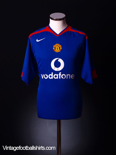 2005-06 Manchester United Away Shirt M