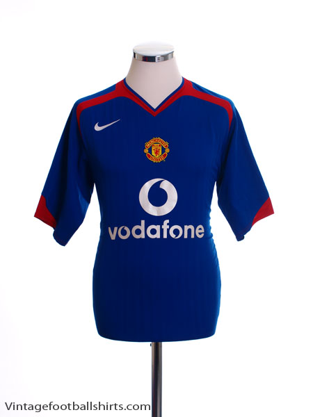 2005-06 Manchester United Away Shirt XL