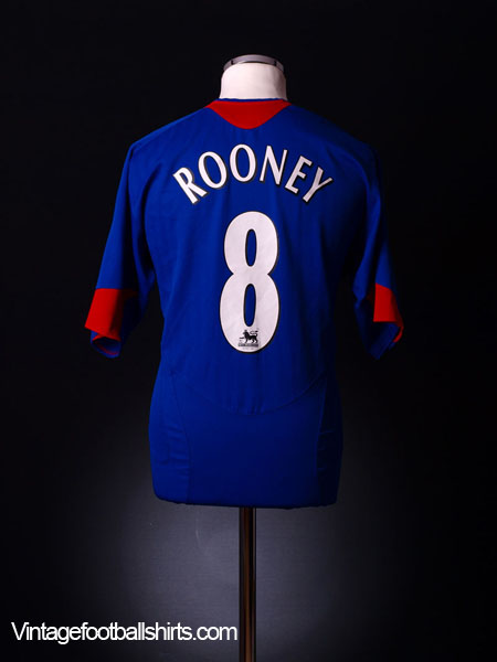 1552ecd8afc 2005-06 Manchester United Away Shirt Rooney #8 L for sale