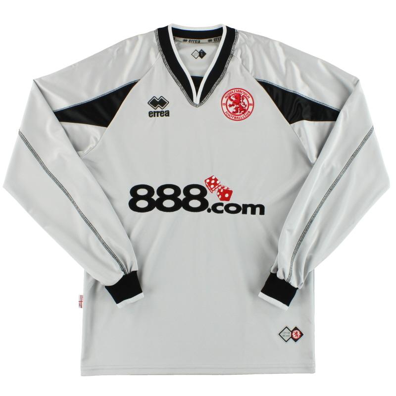2005-06 Middlesbrough Errea Goalkeeper Shirt S