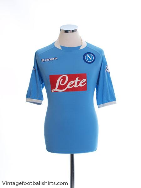 2005-06 Napoli Home Shirt XL