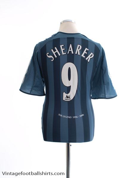 2005-06 Newcastle Away Shirt Shearer #9 L