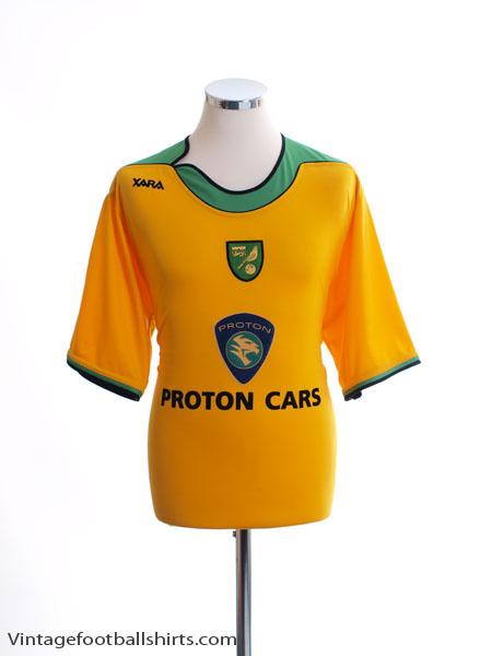 2005-06 Norwich City Home Shirt L