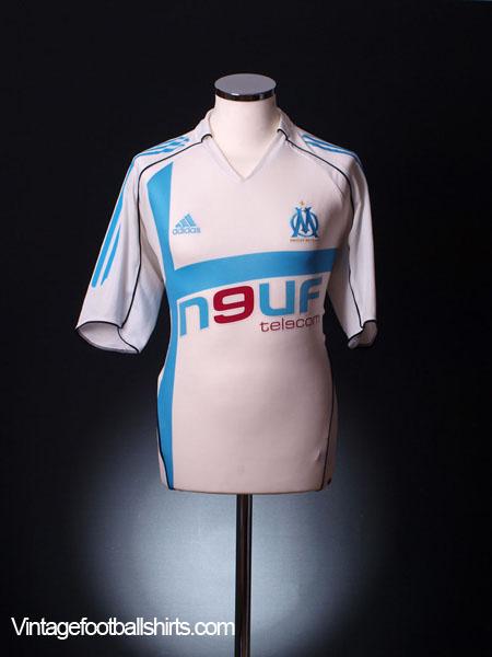 2005-06 Olympique Marseille Home Shirt L