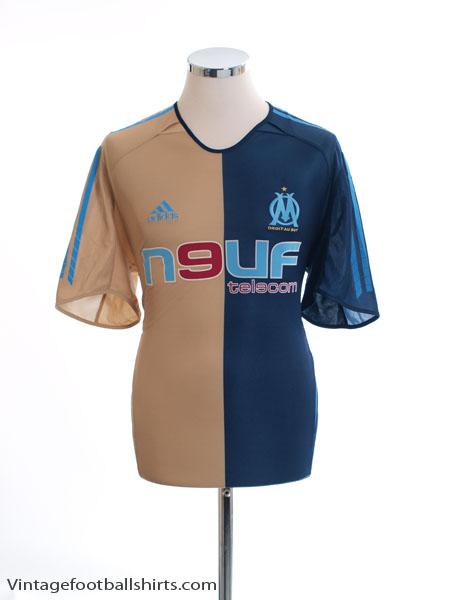 2005-06 Olympique Marseille Third Shirt M