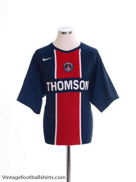 2005-06 Paris Saint-Germain Home Shirt *Mint* L
