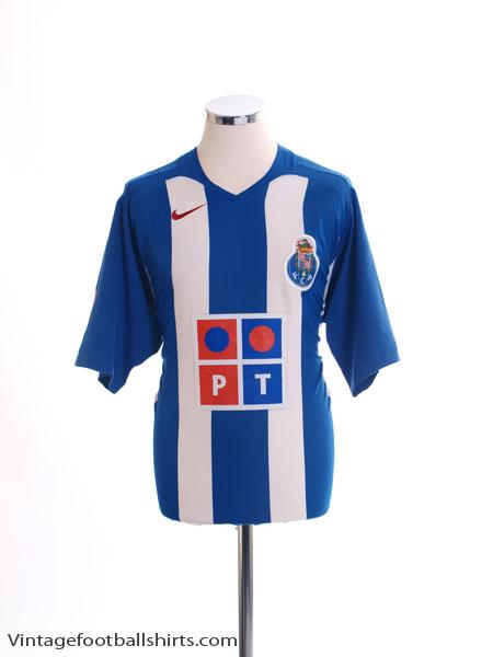 2005-06 Porto Home Shirt L