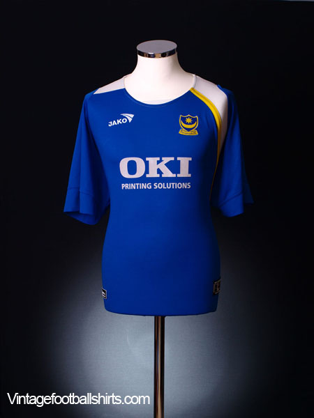 2005-06 Portsmouth Home Shirt  XL