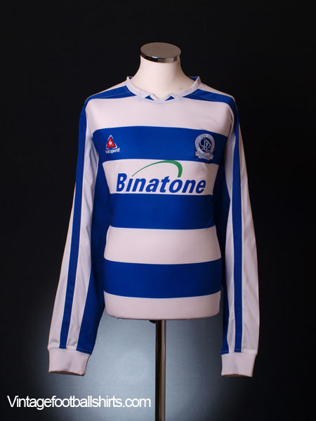 2005-06 QPR Home Shirt L/S XL