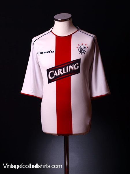 2005-06 Rangers Away Shirt L