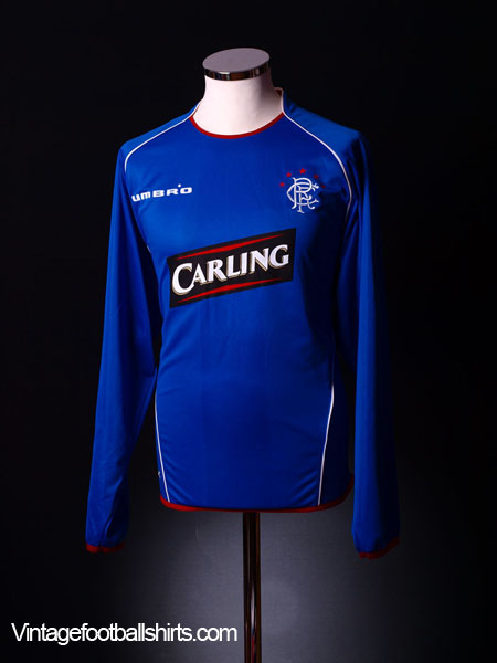 2005-06 Rangers Home Shirt XL