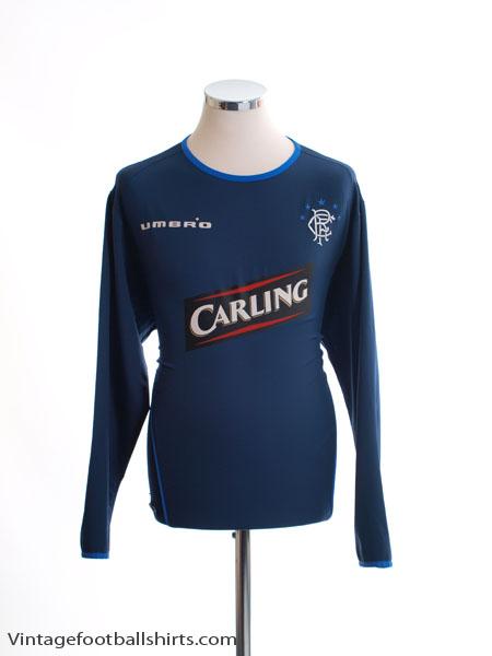 2005-06 Rangers Third Shirt L/S L