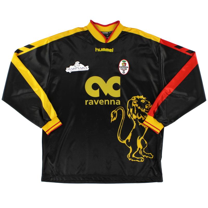 2005-06 Ravenna Away Shirt L/S XL