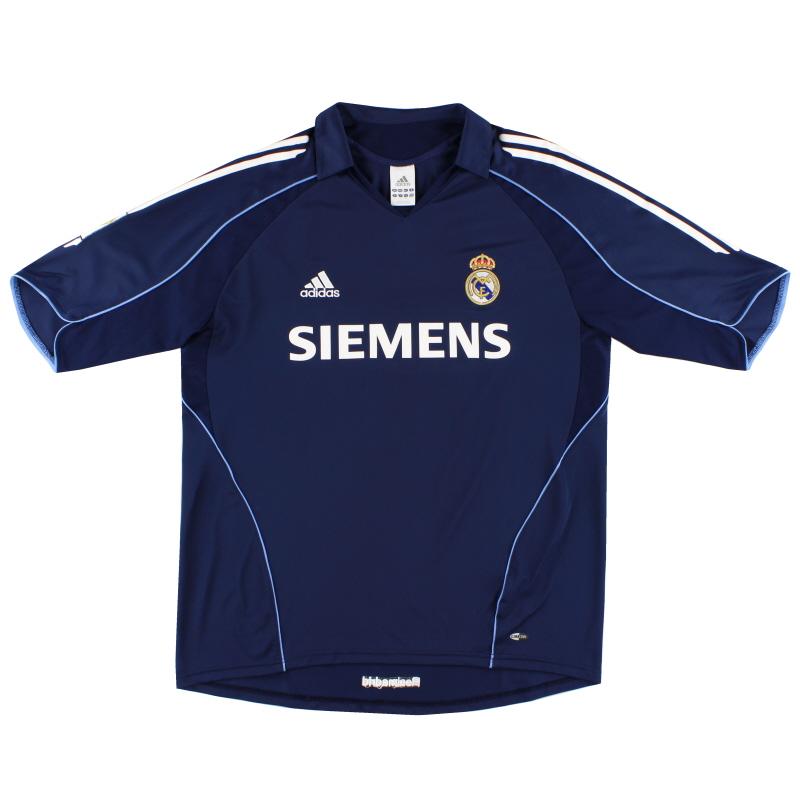 2005-06 Real Madrid Away Shirt L - 109856