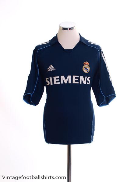 2005-06 Real Madrid Away Shirt M - 109856