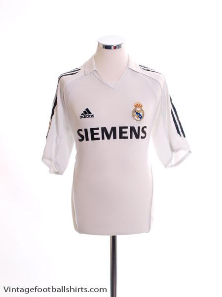 2005-06 Real Madrid Home Shirt *w/tags* M - 109879