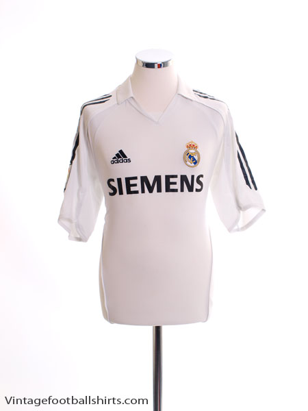2005-06 Real Madrid Home Shirt L - 109879