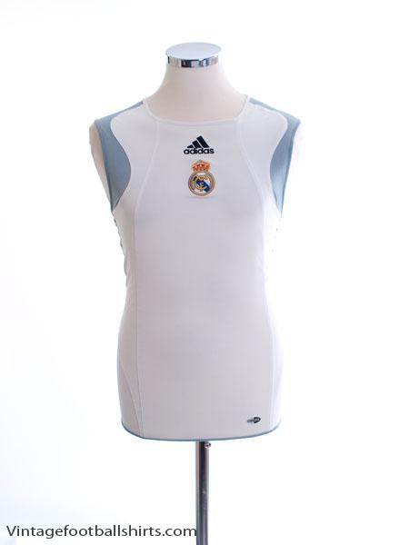 2005-06 Real Madrid Training Vest M