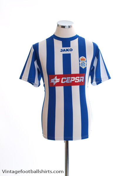 2005-06 Recreativo Huelva Home Shirt M