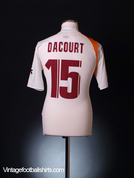 2005-06 Roma Away Shirt Dacourt #15 L