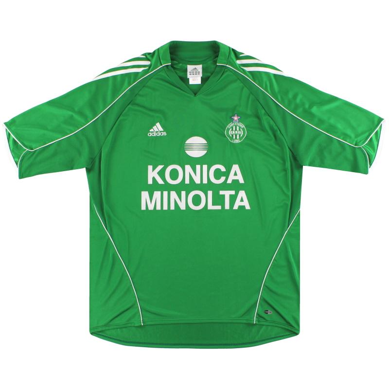 2005-06 Saint Etienne adidas Home Shirt XL