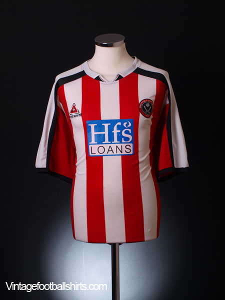 2005-06 Sheffield United Home Shirt L