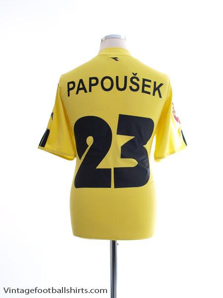 2005-06 Slovan Liberec Away Shirt Papousek #23 L