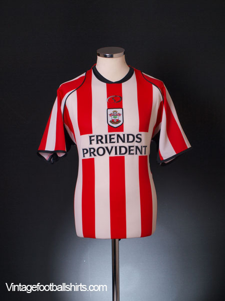 2005-06 Southampton Home Shirt *Mint* XL