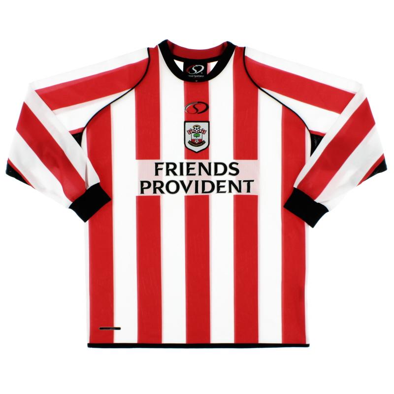2005-06 Southampton Home Shirt L/S *Mint* M