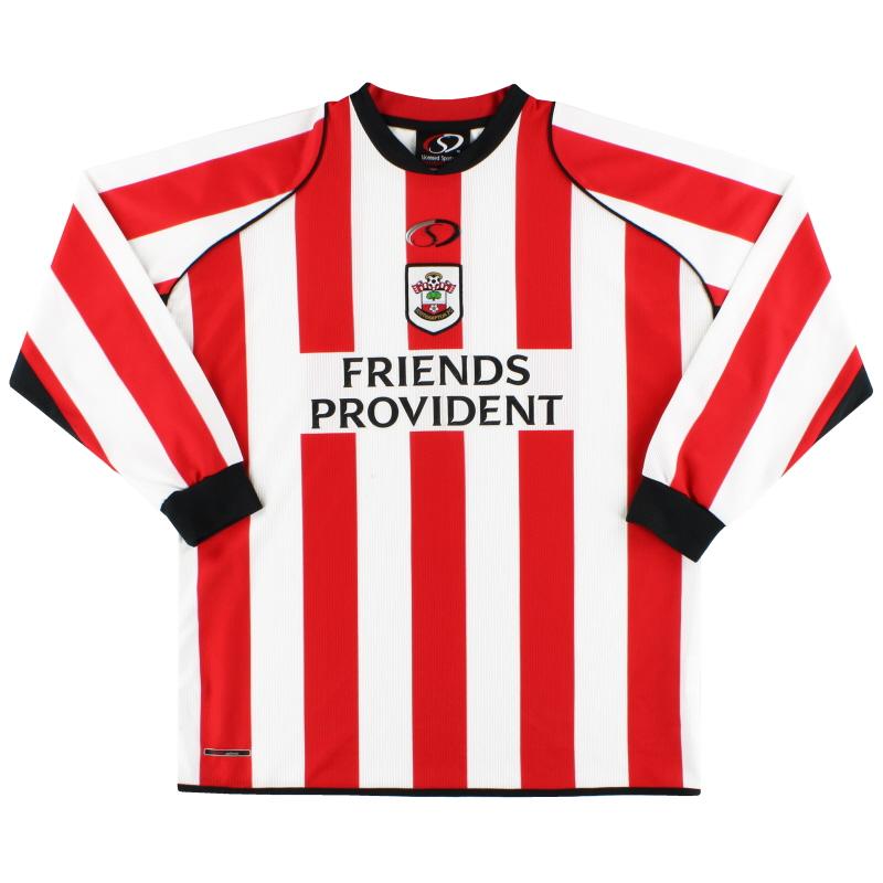 2005-06 Southampton Home Shirt L/S L