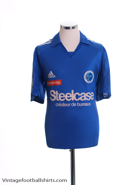 2005-06 Strasbourg Home Shirt M