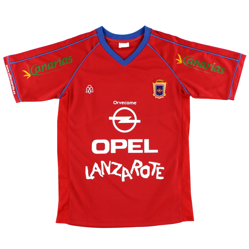 2005-06 UD Lanzarote Home Shirt M