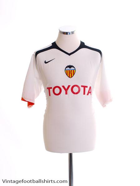 2005-06 Valencia Home Shirt M