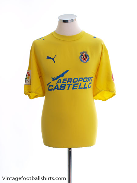 2005-06 Villarreal Home Shirt L