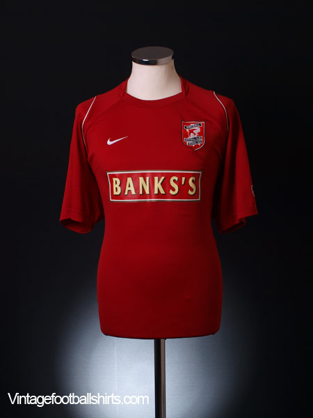 2005-06 Walsall Home Shirt L