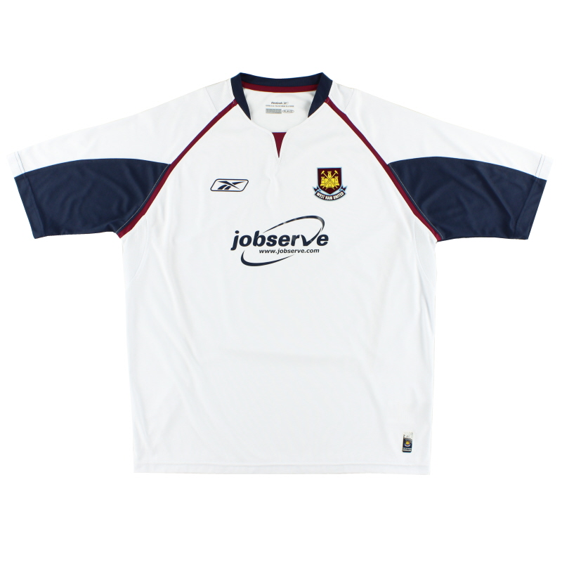 2005-06 West Ham Away Shirt L