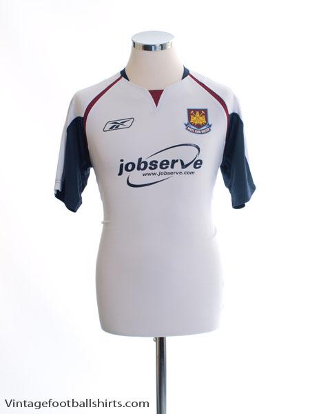 2005-06 West Ham Away Shirt S