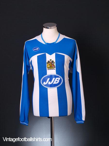2005-06 Wigan Home Shirt L/S M